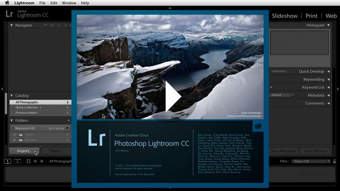 Getting Started in Lightroom CC: Overview of the Lightroom Interface