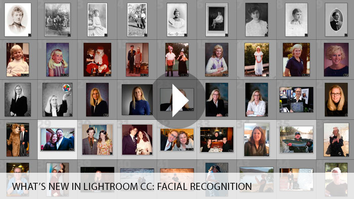 What's New in Lightroom CC: Facial Recognition