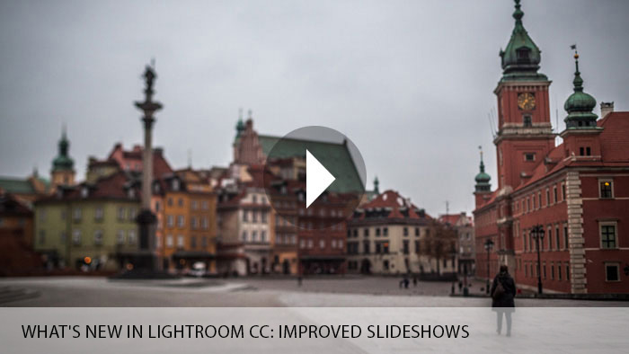 What's New in Lightroom CC: Improved Slideshows