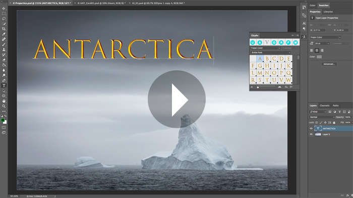 how to add fonts to photoshop cc 2017