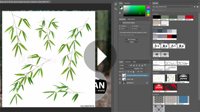New Features and Enhancements to Libraries and Adobe Stock in Photoshop CC 2017