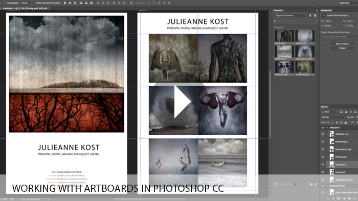 Working with Artboards in Photoshop CC