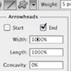 How to Add Arrowheads to Lines in Photoshop